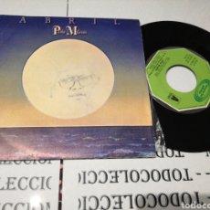 Discos de vinilo: PABLO MILANÉS ABRIL. Lote 118099435