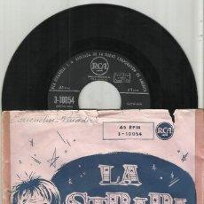 Discos de vinilo: GEORGE SNOWHILL SINGLE LA STRADA - LA POLKA DE UNA NOTA ESPAÑA. Lote 118106343