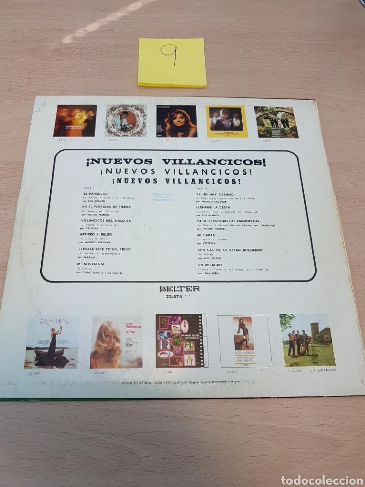 Discos de vinilo: LP - NUEVOS VILLANCICOS - VARIOS (SPAIN, BELTER 1970) - Foto 3 - 118130394