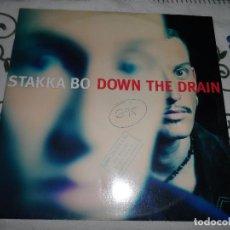 Discos de vinilo: STAKKA BO - DOWN THE DRAIN. Lote 118132299