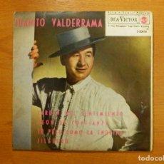 Discos de vinilo: DISCO DE VINILO - EP - JUANITO VALDERRAMA - JARDIN DEL SENTIMIENTO - PEON DE CONFIANZA - Y +. Lote 118133471