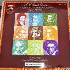 Discos de vinilo: BEETHOVEN, HEROICA - RUDOLF KEMPE - CUADRAFÓNICO - LP EMI 1976 - ESPAÑA. Lote 118138467