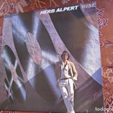 Discos de vinilo: HERB ALPERT- LP DE VINILO- TITULO RISE- CON 9 TEMAS- ORIGINAL DEL 80 - NUEVO A ESTRENAR. Lote 118138687