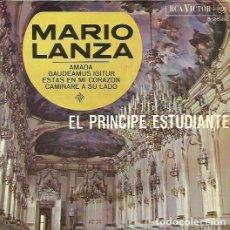 Discos de vinilo: MARIO LANZA. EP. SELLO RCA VICTOR. EDITADO EN ESPAÑA. AÑO 1966. Lote 118148099