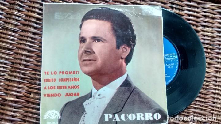 E P (VINILO) DE PACORRO AÑOS 60 (Música - Discos de Vinilo - EPs - Flamenco, Canción española y Cuplé)