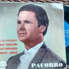 Discos de vinilo: E P (VINILO) DE PACORRO AÑOS 60. Lote 118153895