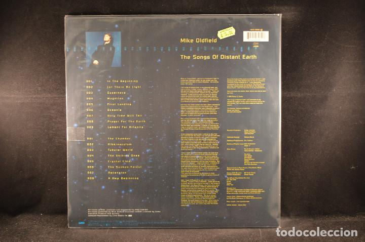 Discos de vinilo: MIKE OLDFIELD - THE SONG OF DISTANT EARTH - LP - Foto 2 - 118168703