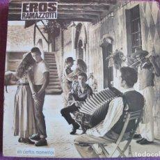 Discos de vinilo: LP - EROS RAMAZZOTTI - EN CIERTOS MOMENTOS (SPAIN, HISPAVOX 1987). Lote 118170555
