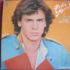 Discos de vinilo: LP - PEDRO MARIN - AIRE (SPAIN, DISCOS HISPAVOX 1980). Lote 118171371