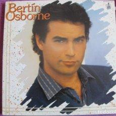 Discos de vinilo: LP - BERTIN OSBORNE - SUERTE (SPAIN, HISPAVOX 1985). Lote 118171495