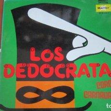 Discos de vinilo: LOS DEDOCRATAS - CORO CARNAVAL 77. Lote 118177451