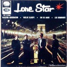 Discos de vinilo: LONE STAR : NUESTRA GENERACION [ESP 1966] EP 7'. Lote 118180755