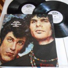 Discos de vinilo: MIKE BLOOMFIELD & AL KOOPER-LP DOBLE THE LIVE ADVENTURES OF-PORT.ABIERTA-ENGLAND 1988-NUEVO. Lote 118184971