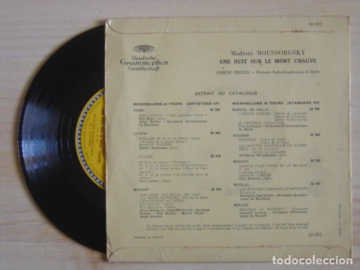 Discos de vinilo: Moussorgsky, Ferenc Fricsay, Orchestre Radio Symphonique De Berlin - Une Nuit Sur Le Mont Chauve - Foto 2 - 118191587