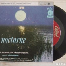 Discos de vinilo: THE HOLLYWOOD BOWL SYMPHONY ORCHESTRA CONDUCTED BY CARMEN DRAGON - NOCTURNE - PART 3. Lote 118193675