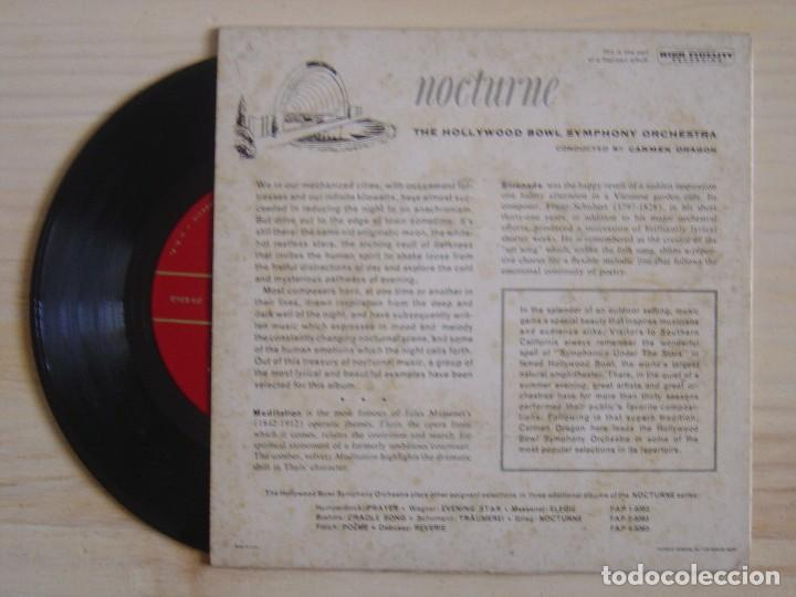 Discos de vinilo: The Hollywood Bowl Symphony Orchestra Conducted By Carmen Dragon - Nocturne - Part 3 - Foto 2 - 118193675