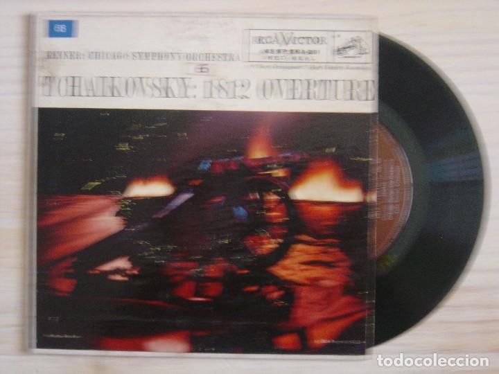 TCHAIKOVSKY 1812 OVERTURE - REINER : CHICAGO SYMPHONY ORCHESTRA - SINGLE USA - RCA (Música - Discos - Singles Vinilo - Orquestas)