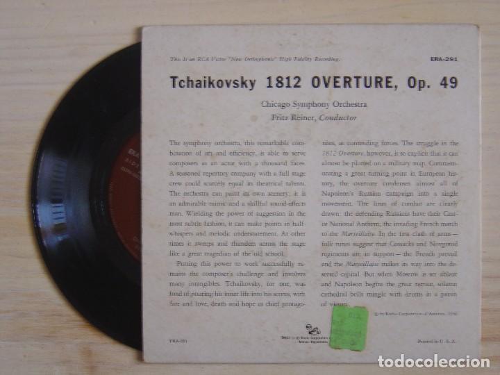 Discos de vinilo: TCHAIKOVSKY 1812 OVERTURE - REINER : CHICAGO SYMPHONY ORCHESTRA - SINGLE USA - RCA - Foto 2 - 118194443