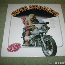 Discos de vinilo: LP MAX B : SUPER AFRO ( SONIDO OSIBISA, SANTANA, MANU DIBANGO, BARRRABAS, TITANIC, AFRICA FUNK ETC. Lote 118201087