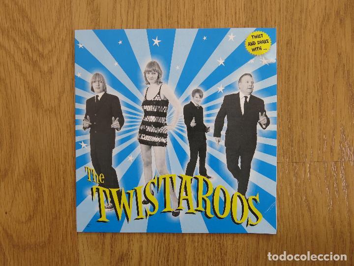 THE TWISTAROOS SINGLE TWIST AND SHAKE WOGGLES FLESHTONES DETROIT COBRAS BLASTERS GUADALUPE PLATA (Música - Discos de Vinilo - EPs - Rock & Roll)
