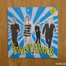 Discos de vinilo: THE TWISTAROOS SINGLE TWIST AND SHAKE WOGGLES FLESHTONES DETROIT COBRAS BLASTERS GUADALUPE PLATA. Lote 118244611