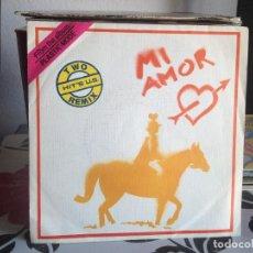 Discos de vinilo: PLASTIC MODE - MI AMOR / SINGLE VINILO PROMOCIONAL EDITA BNS MADE IN SPAIN (ITALO DISCO) 1985. NM-M. Lote 118270815