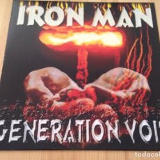 Discos de vinilo: IRON MAN -- GENERATION VOID --LP DOOM STONER HEAVY. Lote 118275959