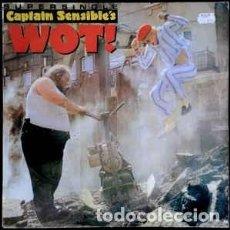 Discos de vinilo: CAPTAIN SENSIBLE – WOT!. MAXI SINGLE EN VINILO.. Lote 118293223