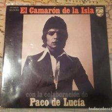 Discos de vinilo: EP 45 RPM CAMARÓN DE LA ISLA CON LA COLABORACIÓN DE PACO DE LUCÍA. Lote 120165910