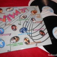 Discos de vinil: VIVA 89 2LP 1988 HISPAVOX EDICION ESPAÑOLA SPAIN CASAL+FRANCO BATTIATO+OLE OLE+ETC. Lote 118310767