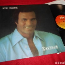Disques de vinyle: JULIO IGLESIAS EMOCIONES LP 1980 CBS GATEFOLD EDICION ESPAÑOLA SPAIN. Lote 221345073