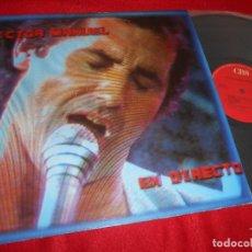 Discos de vinilo: VICTOR MANUEL EN DIRECTO LP 1985 CBS PROMO EDICION ESPAÑOLA SPAIN. Lote 139500341