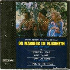 Discos de vinilo: LEE MARVIN / CLINT EASTWOOD - PAINT YOUR WAGON (OS MARIDOS DE ELIZABETH) - EP PORTUGAL 1970. Lote 118313055