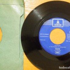 Discos de vinilo: DISCO VINILO - SINGLE - CHACHO Y SUS RUMBAS - CUIDADO - ARRIBA CON EL - JUKEBOX - SIN CATALOGAR -. Lote 118318239