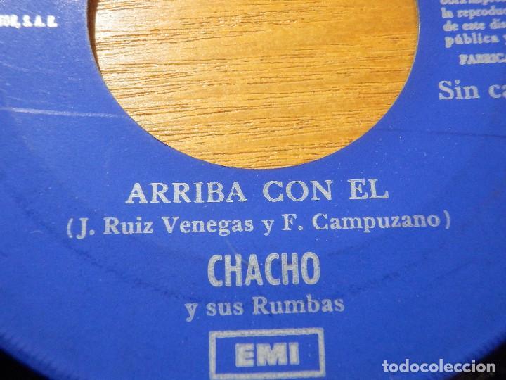 Discos de vinilo: Disco Vinilo - SINGLE - CHACHO Y SUS RUMBAS - CUIDADO - ARRIBA CON EL - JUKEBOX - SIN CATALOGAR - - Foto 3 - 118318239