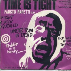 Discos de vinilo: FAUSTO PAPETTI / TIME IS TIGHT / FIRST OF MAY (SINGLE 1969). Lote 118329723