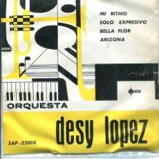 Discos de vinilo: ORQUESTA DESY LOPEZ / MI RITMO + 3 (EP 1961). Lote 118342079