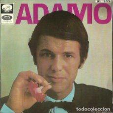 Discos de vinilo: ADAMO. EP. SELLO LA VOZ DE SU AMO. EDITADO EN ESPAÑA. AÑO 1967. Lote 118344463