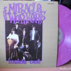 Discos de vinilo: THE MIRACLE WORKERS INSIDE OUT LP USA 1985 PEPETO TOP . Lote 118346827