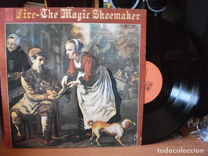 THE MAGIC SHOEMAKER FIRE LP UK PEPETO TOP (Música - Discos de Vinilo - EPs - Jazz, Jazz-Rock, Blues y R&B)