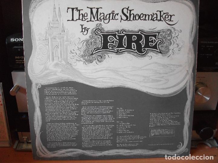 Discos de vinilo: THE MAGIC SHOEMAKER FIRE LP UK PEPETO TOP - Foto 2 - 118347079