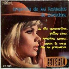 Discos de vinil: ORQUESTA DE LOS FESTIVALES DE BARCELONA / IN THE SUMMERTIME + 3 (EP PROMO 1970). Lote 118354335