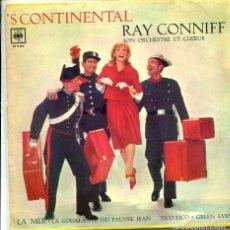 Discos de vinilo: RAY CONIFF / GREEN EYES + 3 (EP 1966). Lote 118357019