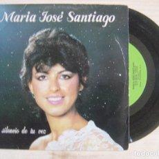 Discos de vinilo: MARIA JOSE SANTIAGO - QUE ES EL AMOR + DILO CUANTO ANTES - SINGLE 1983 - FONODIS. Lote 118364759