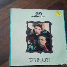 Discos de vinilo: 2 UNLIMITED-GET READY.LP ESPAÑA. Lote 118366903