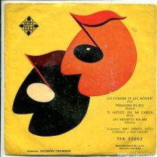 Disques de vinyle: TELEFUNKEN (VARIOS) JERRY MENGO - NOEL CHIBOUST - FELIX VALVERT (EP 1958). Lote 118370711