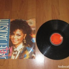 Discos de vinilo: JANET JACKSON - NASTY - MAXI - UK - AM RECORDS - IBL - . Lote 118376439