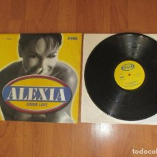 Discos de vinilo: ALEXIA - GIMME LOVE - MAXI - ITALY - SONY MUSIC - IBL - . Lote 118376683