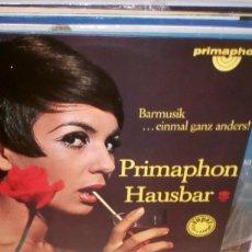 Discos de vinilo: SOUND BY GRISCHA BATANOFF ?– PRIMAPHON HAUSBAR - BARMUSIK EINMAL GANZ ANDERS! LP GERMANY. Lote 118401451