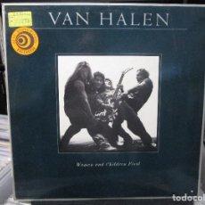Disques de vinyle: VAN HALEN - WOMEN AND CHILDREN FIRST (LP, ALBUM) . Lote 118422155